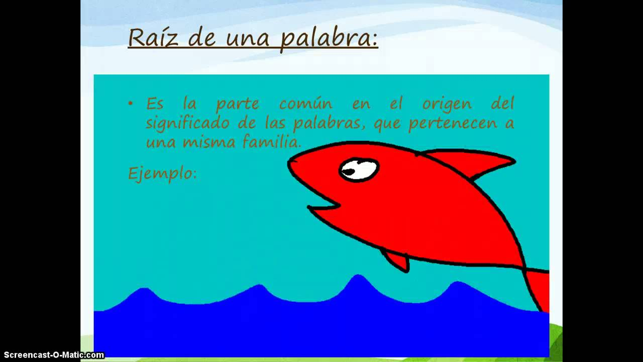 Video 4to familia de palabras youtube for 5 palabras derivadas de jardin