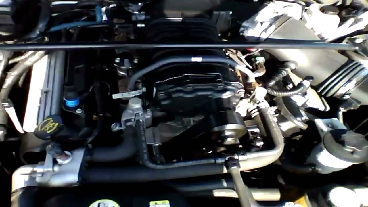 2008 ford mustang v8 engine