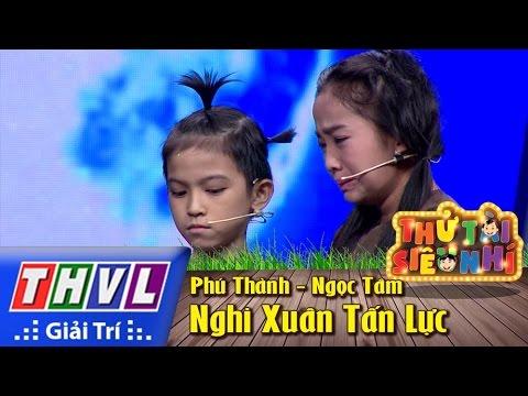 THVL | Thử tài siêu nhí - Tập 4: Nghi Xuân Tấn Lực - Phú Thành, Ngọc Tâm