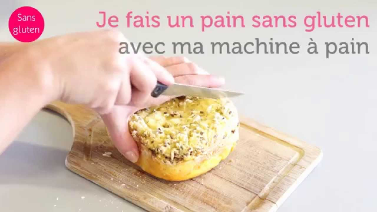 recette du pain sans gluten la machine pain farine sans gluten youtube. Black Bedroom Furniture Sets. Home Design Ideas