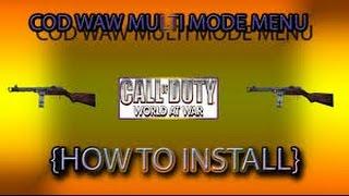 HOW TO INSTALL WAW MODMENU NO JAILBREAK PS3