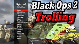 Black Ops 2 Mod Menu Trolling #3 *Funny Reactions* SkyAcro Mod Menu Troll *Modded Lobby*