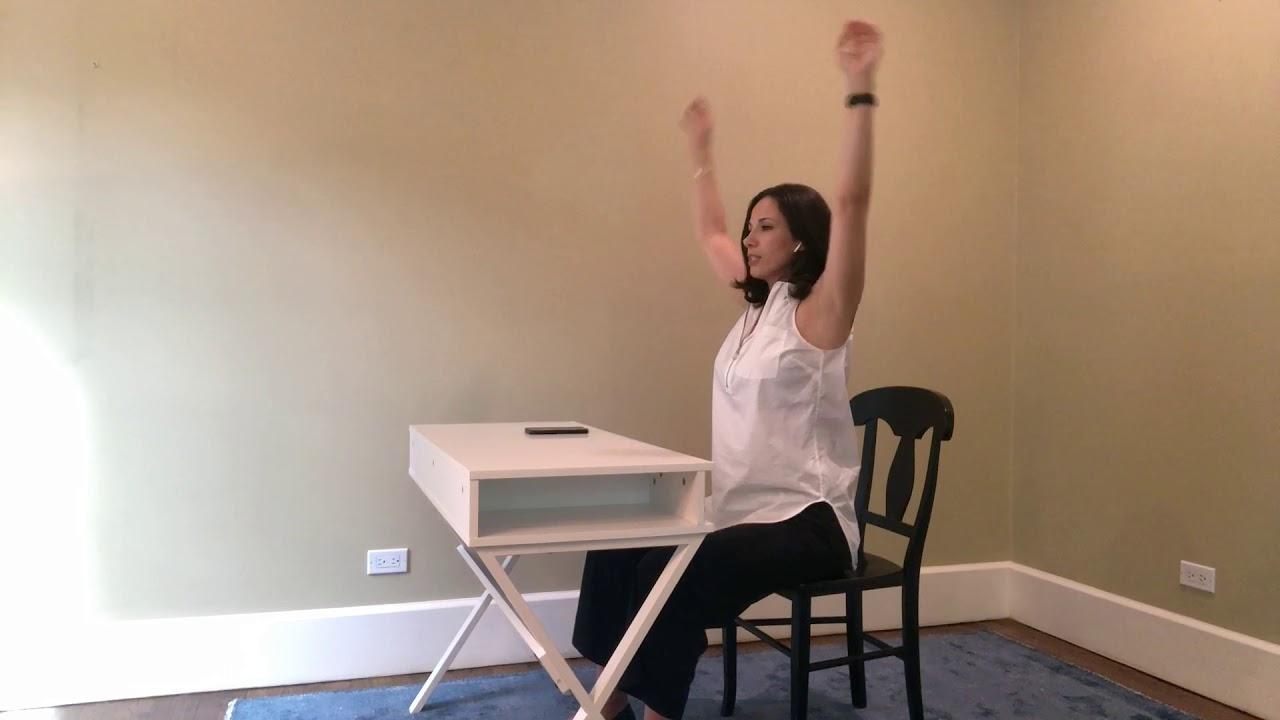 UYTT - 7 Minute Desk + Chair Yoga Class