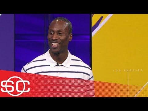 Andre Ingram joins SportsCenter after scoring 19 in his NBA debut for Lakers | SportsCenter | ESPN
