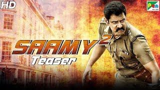 Saamy² | Official Hindi Dubbed Movie Teaser | Vikram, Keerthy Suresh, Aishwarya Rajesh