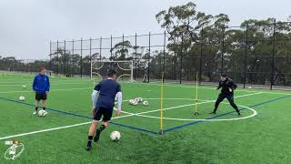 Passing & Shooting Combinations   Joner 1on1 Football Training   Soccer
