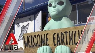 Alien enthusiasts head to 'Storm Area 51' event despite warnings