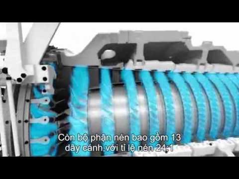 Video về chế tạo tuốc bin khí của Siemens