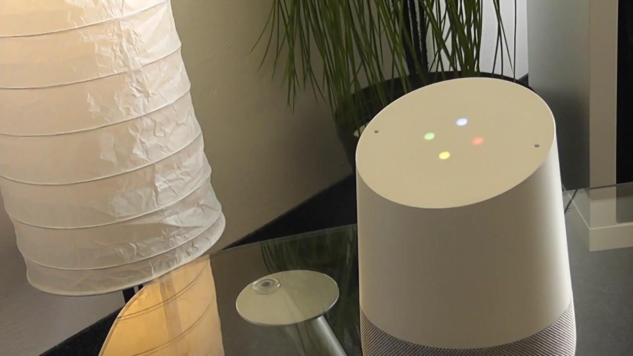 Google Home steuert Z-Way Smart Home Software - YouTube