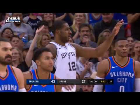 Oklahoma City Thunder vs San Antonio Spurs - Full Game Highlights | Nov 17 | 2017-18 NBA Season