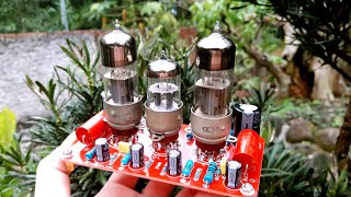 DIY Tube Preamplifier 12AX7 6H6P Tube, PCB   Tube Preamplifier   High-End Preamplifier
