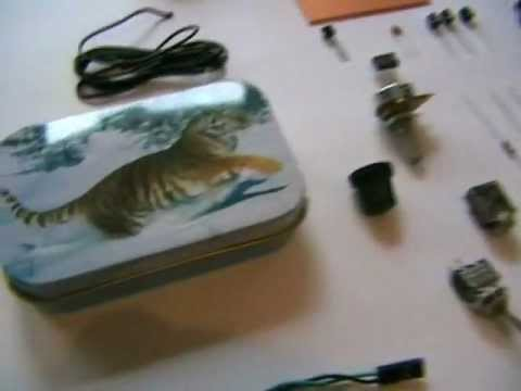 The super tin box sound amplifier. I show you how to build one.