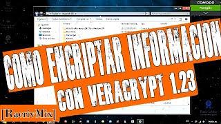 como encriptar información con VeraCrypt 1.23///Microsoft Windows///GNU/Linux///Apple Mac[RacrivMix]