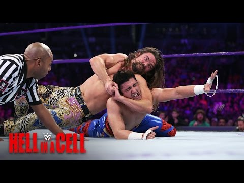 TJ Perkins puts Brian Kendrick on the ropes: WWE Hell in a Cell 2016