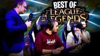 BEST OF : Du beau monde & beau jeu sur League of Legends pendant la PGW