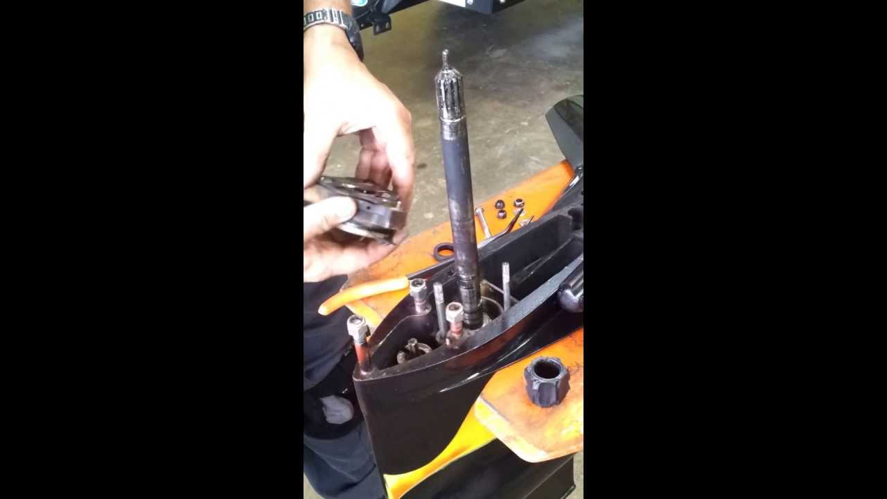 small resolution of water pump on pre alpha mercruiser outdrive