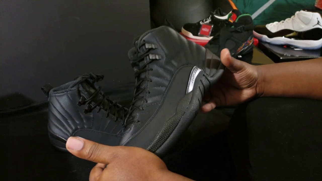 6dfce39125f NEW AIR JORDAN 12 RETRO JUST IN TIME FOR THE WINTER - YouTube