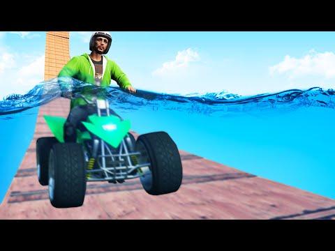 UNDERWATER GTA QUAD RACE! (GTA 5 Funny Moments)