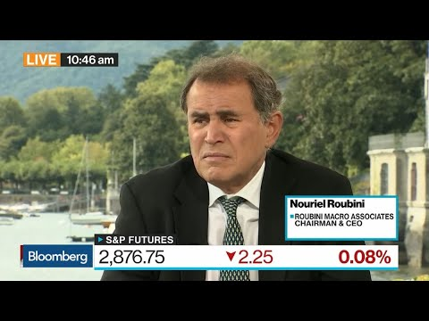 Roubini Warns of 'Perfect Storm' Stalling Global Growth in 2020
