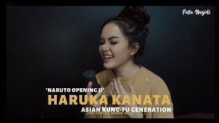 Haruka Kanata (Naruto Op 2) | Asian Kung-Fu Generation (Acoustic Cover by Fatin Majidi)