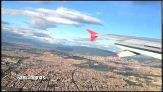 Avianca A320-200 spectacular afternoon takeoff from El Dorado International Airport (HD 1080p)