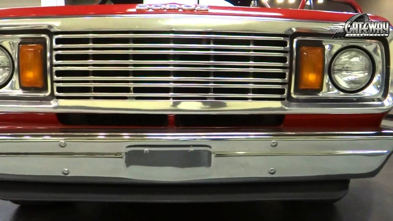 1978 Dodge Lil Red Express Truck #5850 For Sale at Gateway Classic ...