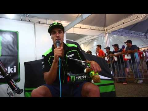 Gautier Paulin at MX GP of State of Goias