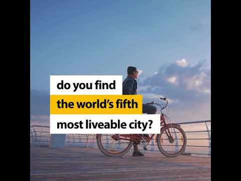 South Australia - It's where success starts: 5th most liveable city