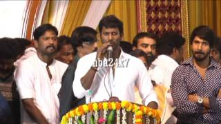 Vishal Becomes the Producer Council President ; Promises to good things | Polimer News