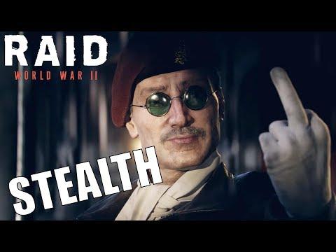 Raid WW2 STEALTH (Hunters stealth in Raid World War 2)