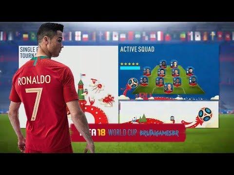 TRAILER, MENU  & MODOS DE JOGO | FIFA 18 WORLD CUP