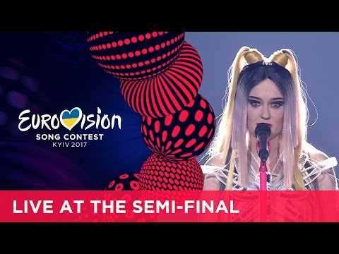 Triana Park - Line (Latvia) LIVE at the first Semi-Final