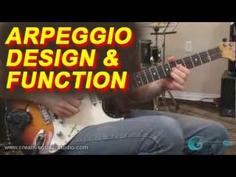Guitar Theory Arpeggio Design Function Youtube