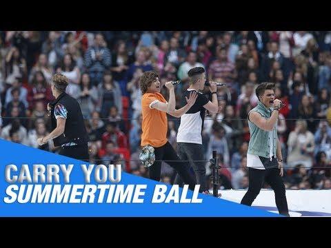 Union J - Carry You - Capital Summertime Ball 2013