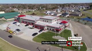 Hudson Fire Department Aerial 4.30.20