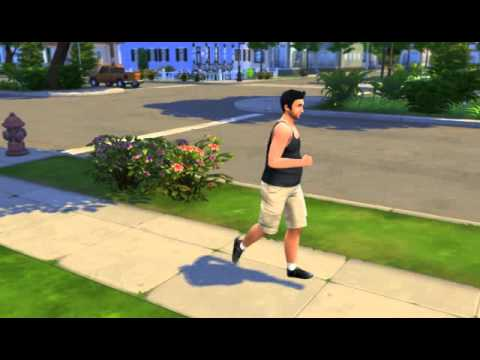 the sims 4 jogging gameplay high graphics settings youtube