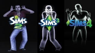 ♦ Sims 2 vs Sims 3 vs Sims 4: Ghosts