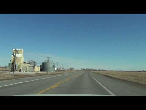 Car Camera - U.S. 75/77 - Homer, NE to the I-129 Interchange (NE) . 2014 ( アメリカ国道75号線と77号線 )