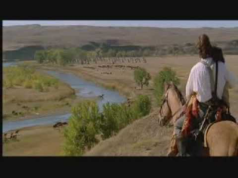 Dances With Wolves - John Dunbar Discovers Stands With A Fist and the Sioux Village