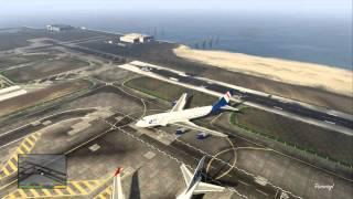 GTA V: Biggest Plane Ever !