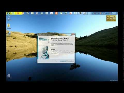 Eset Nod32 Version 5 Antivirus (Installation and Update)