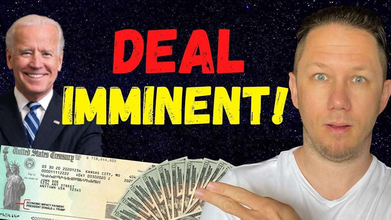 DEAL IMMINENT!! Fourth Stimulus Check Update + Unemployment Update & The Daily Show