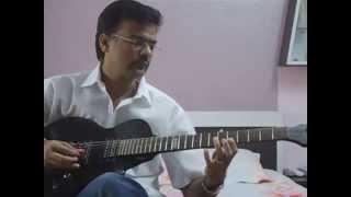 Ab Mujhe Raat Din Tumhara Hi Khayal Hai.. on Guitar