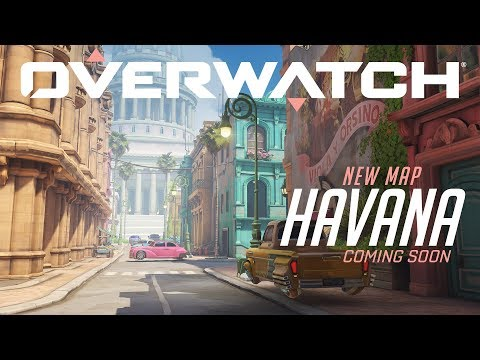 Overwatch's new map Havana is now playable on the PTR
