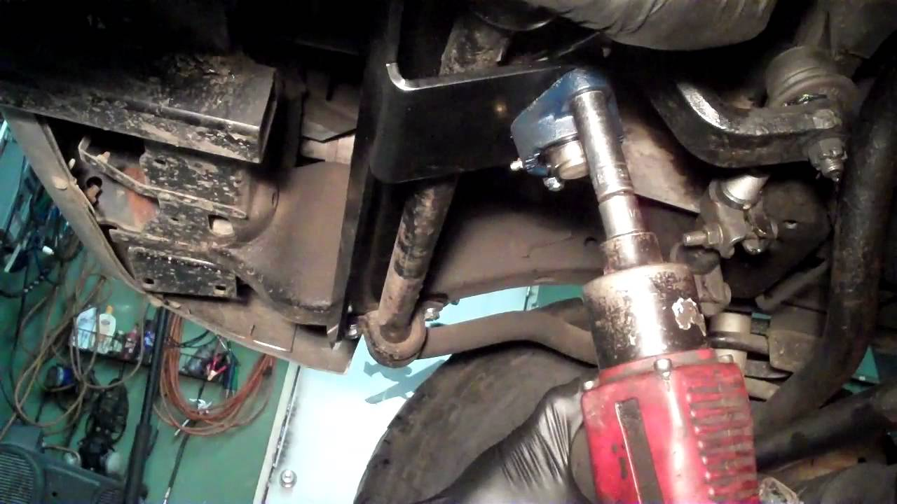 How to install the Dodge Ram Steering Gear box Stabilizer  YouTube