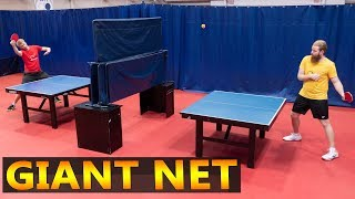 Giant Net Ping Pong