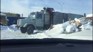 УК Белый берег вывозит мусор