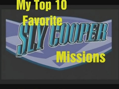 My Top 10 Favorite Sly Cooper Missions
