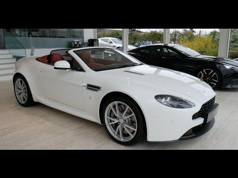 Aston Martin Vantage V8 Roadster Cold Start Revs Interior And Exterior Walkaround Youtube