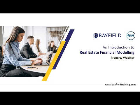 PREVIEW Real Estate Financial Modelling Course Bayfield Training
